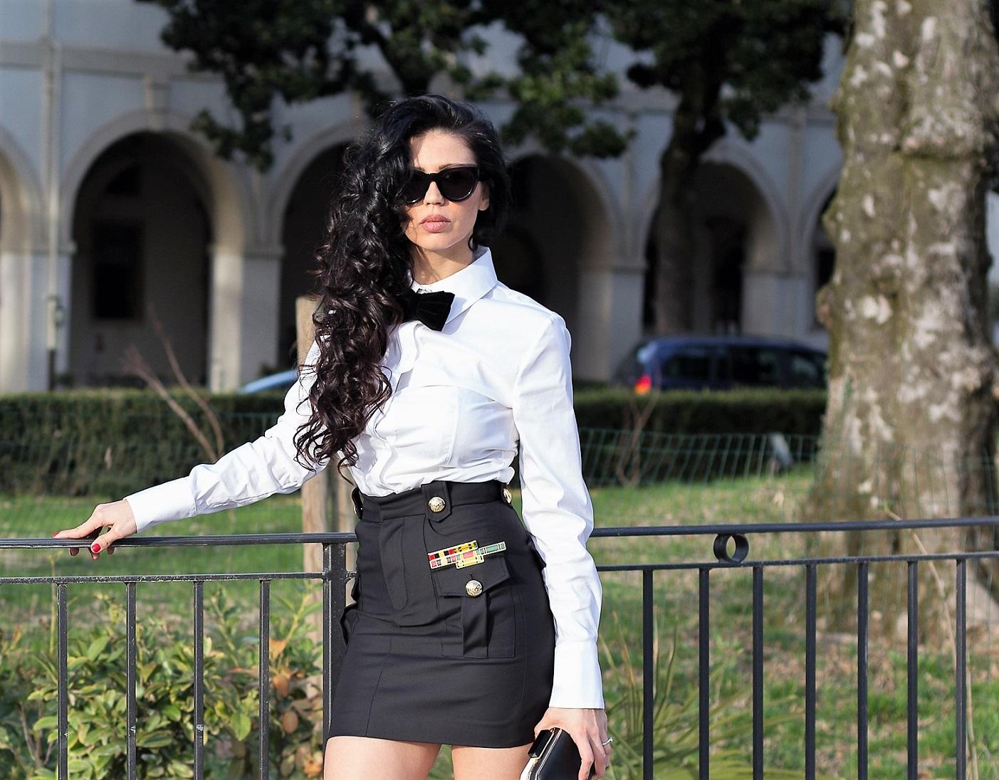 camicia bianca - look fashion blogger